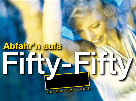 Logo des Fifty-Fifty-Tickets